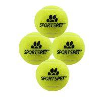 SPORTSPET TENNIS BALL 3PK MED YELLOW