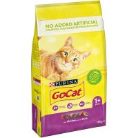 GO CAT COMPLETE VITALITY CHICKEN/DUCK FOOD 10kg