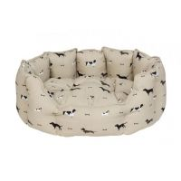 ALLPORT WOOF DOG BED XL