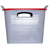RED GORILLA TUB & LID MULTI COLOURS