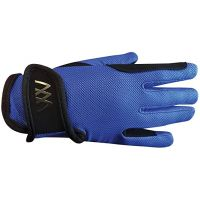 WOOFWEAR YOUNG RIDER GLOVE ELECTRIC BLUE