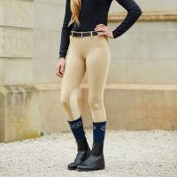 DUBLIN PERFORMANCE FLEX KNEE PATCH RIDING TIGHTS CHILDS