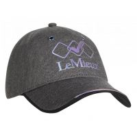LEMIEUX SEAMLESS BASEBALL CAP GREY