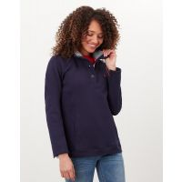 JOULES BEACHY FUNNEL NECK FRENCH NAVY