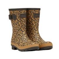 JOULES LEOPARD PRINT WELLY