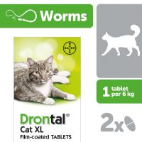 DRONTAL XL CAT WORMER