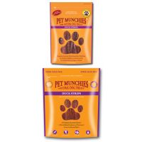 PET MUNCHIES DUCK STRIPS 90G