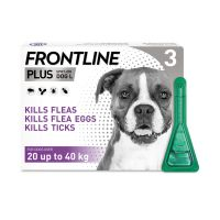 FRONTLINE PLUS SPOT ON FOR LARGE DOGS 20-40kg