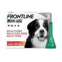 FRONTLINE PLUS SPOT ON FOR EXTRA LARGE DOGS OVER 40kg