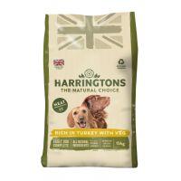 HARRINGTONS TURKEY & VEGETABLE DRY  DOG FOOD
