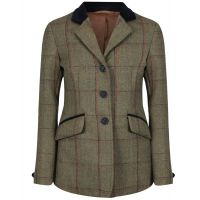 EQUETECH JUNIOR LAUNTON TWEED JACKET