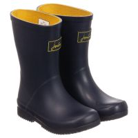 JOULES JUNIOR ROLL UP WELLY NAVY
