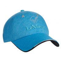 LEMIEUX LUXE BASEBALL CAP AZURE