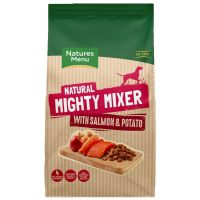 NATURES MENU MIGHTY MIXER SALMON  & POTATOE