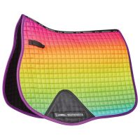 WB OMBRE ALL PURPOSE SADDLE PAD RAINBOW DREAM