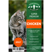 MILLSIDE SUPER PREMIUM CAT- CHICKEN 2KG