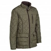 PERCUSSION QUILTED JACKET MARRON