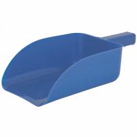 ROMA PLASTIC FEED SCOOP BLUE