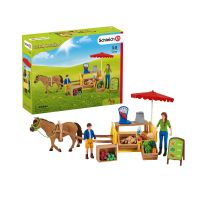 SCHLEICH SUNNY DAY MOBILE FARM STAND