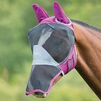 SHIRES DELUXE FLY MASK WITH EAR & NOSE PROTECTION