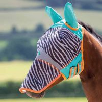 SHIRES ZEB-TEK FLY MASK