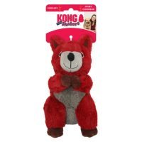 KONG SHAKERS PASSPORTS RED SQUIRREL DOG TOY