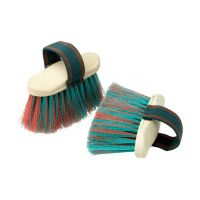STABLEMATES DANDY BRUSH WITH ELASTICATED STRAP