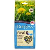 BURGESS EXCEL COUNTRY GARDEN HERBS FOR HAY 120g