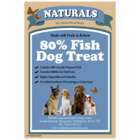 MILLSIDE DOG TREATS FISH FLAVOURED