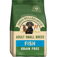 James Wellbeloved Small Breed Adult  Complete Dog Food with Fish