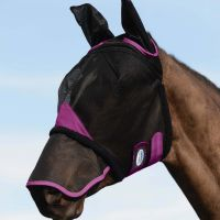 WEATHERBEETA COMFITEC MESH FLY MASK WITH EARS AND NOSE