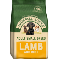 James Wellbeloved Small Breed Adult  Complete Dog Food with Lamb