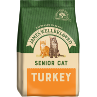 JAMES WELLBELOVED SENIOR CAT COMPLETE FOOD WITH TURKEY