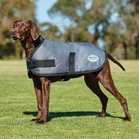 WEATHERBEETA COMFITEC CLASSIC DOG COAT DARK GREY