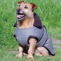 WEATHERBEETA OLIVE TWEED DOG COAT