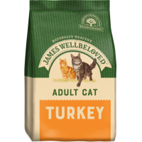 James Wellbeloved Adult Cat Food Complete with Turkey