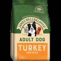 James Wellbeloved Adult Complete Dog Food with Turkey