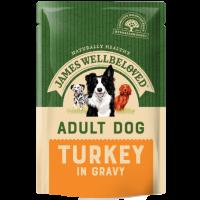JAMES WELLBELOVED ADULT DOG TURKEY POUCHES