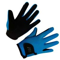 WOOF YOUNG RIDER GLOVE TURQUOISE